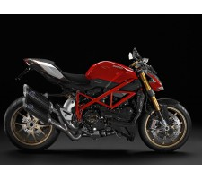 Ducati Street Fighter - Protections de flancs de réservoir
