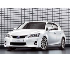 Protection d'angles de pare chocs - Lexus CT 200H 2011