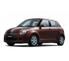 Protection d'angles de pare-chocs Suzuki Swift 2010