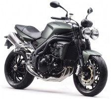 Protection de flancs de réservoir - Triumph Speed Triple 2010