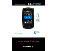 Protection de Garmin Edge 810